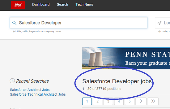 Salesforce Developer Jobs