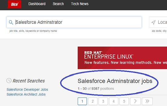 Salesforce Administrator Jobs