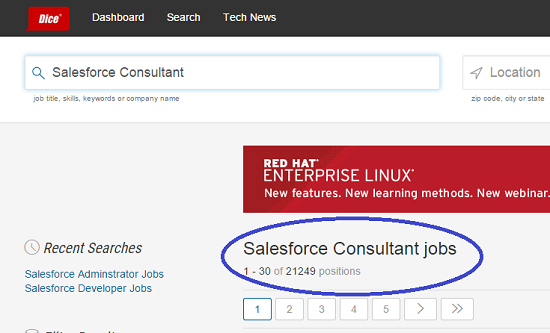 Salesforce Consultant Jobs