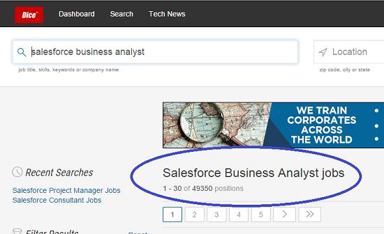 salesforce administrator salary