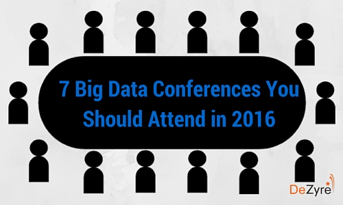 Big Data Events to attend in 2016