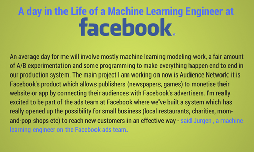 Machine Learning Engineer at Facebook