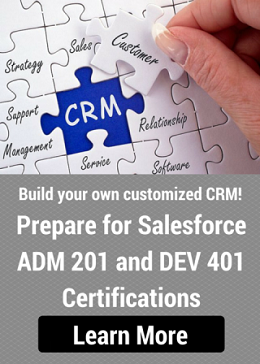 Build awesome customized CRM using Salesforce!