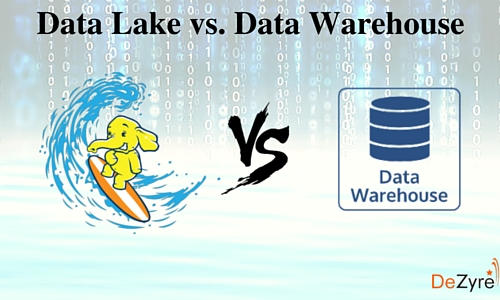 Difference between a Data Lake and a Data Warehouse