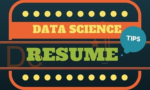 Data Science Resume Tips