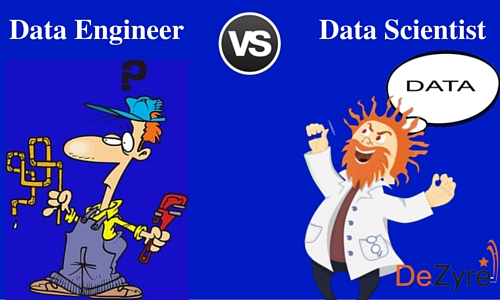 Difference between Data Engineer and Data Scientist