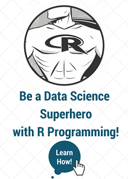 Be a Data Science in R Programming Superhero and build IBM Certified Projects.