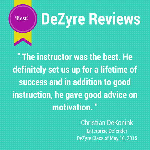 DeZyre Reviews: Hadoop Online Training Class of May 10 2015