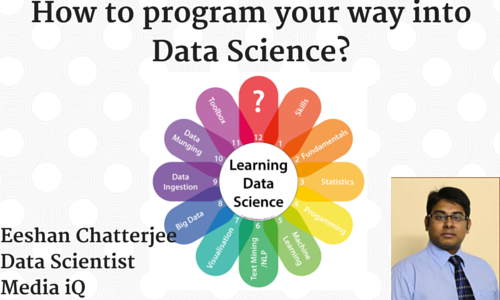 How to program your way into data science