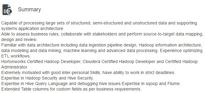 How Linkedin profile can help you get Hadoop Jobs