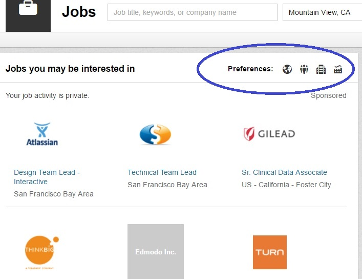 Hadoop Job Search on Linkedin