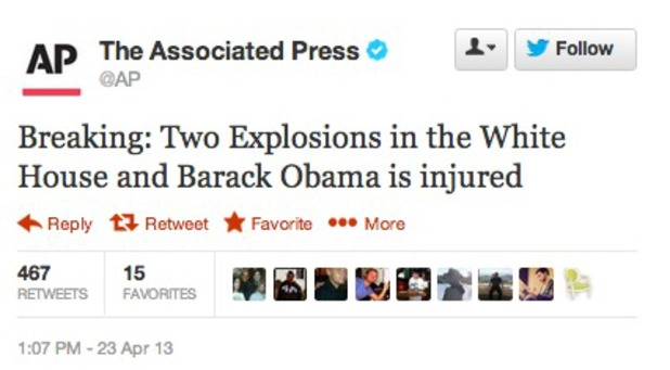Breaking: Two Explosions in the White House and Barack Obama is injured