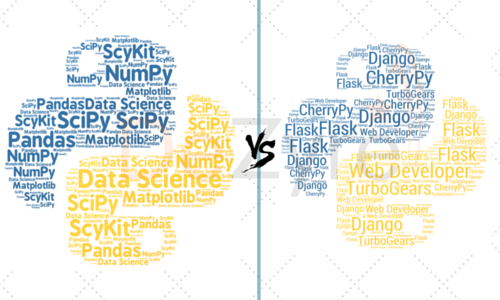 Python Data Science vs Python in Web Development