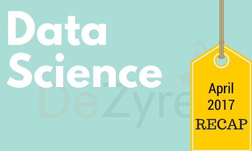 Data Science News for April 2017