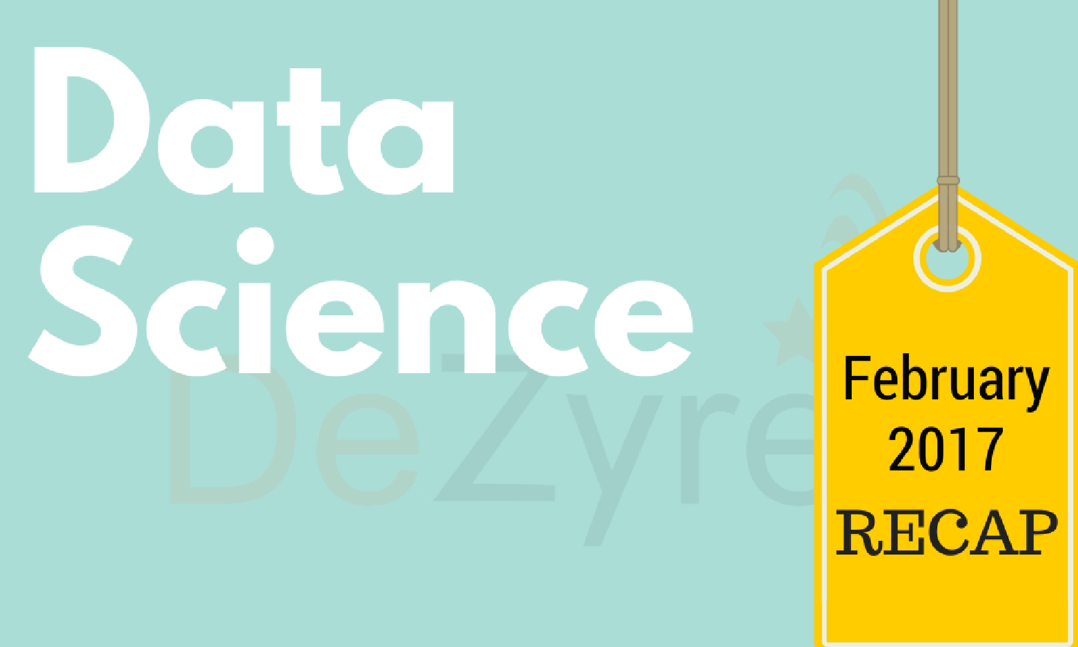 Data Science news for February 2017