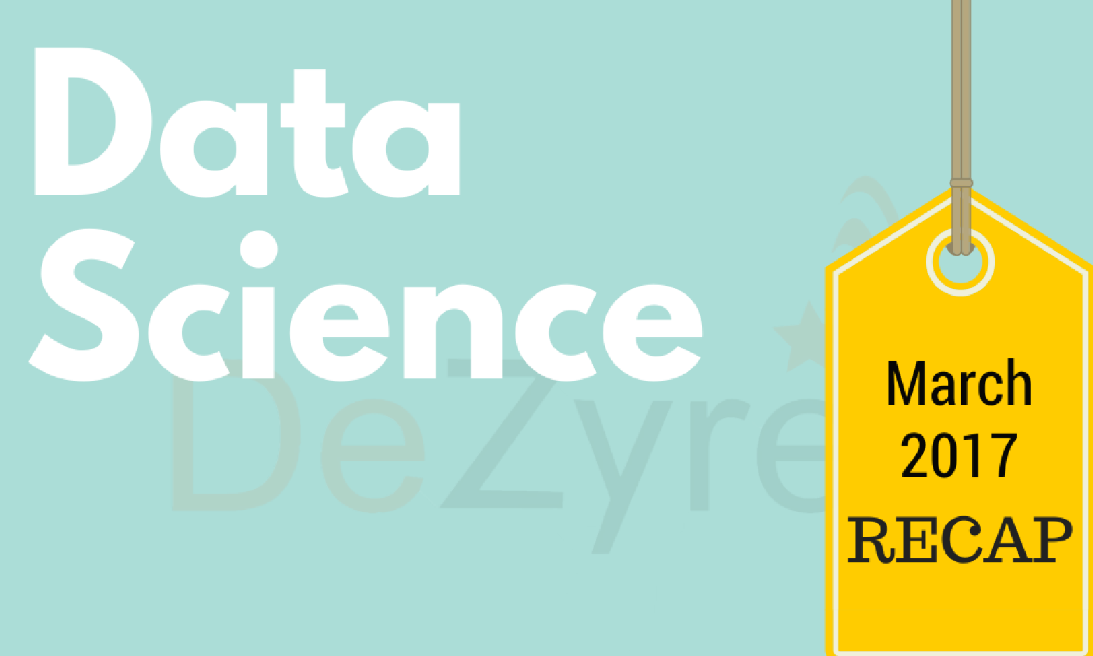 Data Science News for March 2017