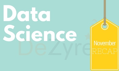 Data Science Monthly News