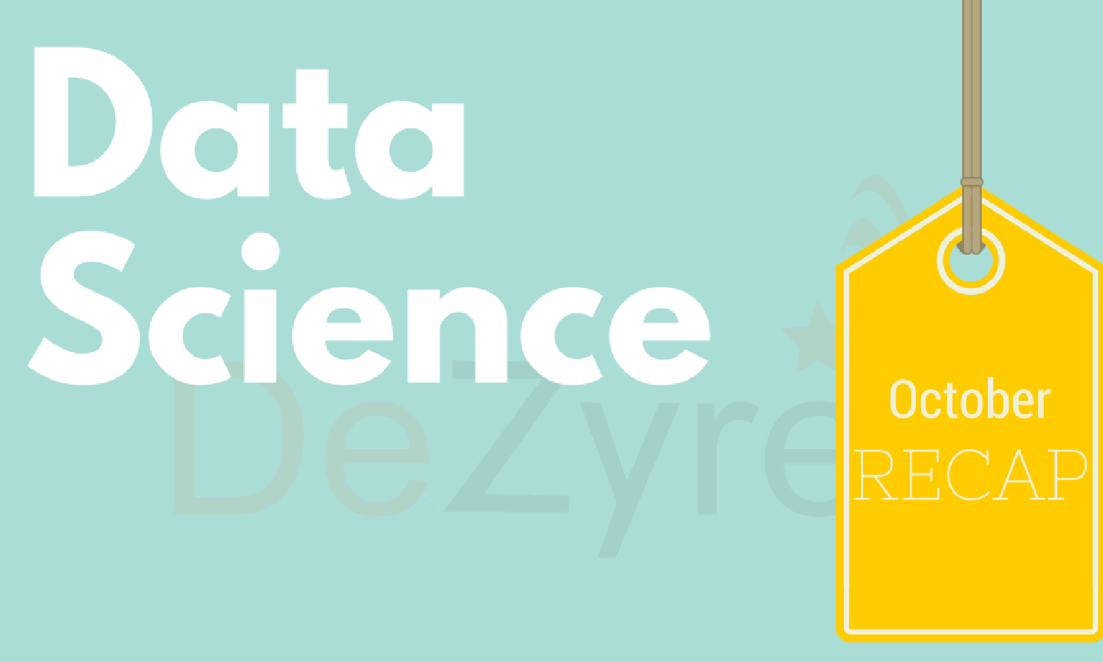 Data Science News for October