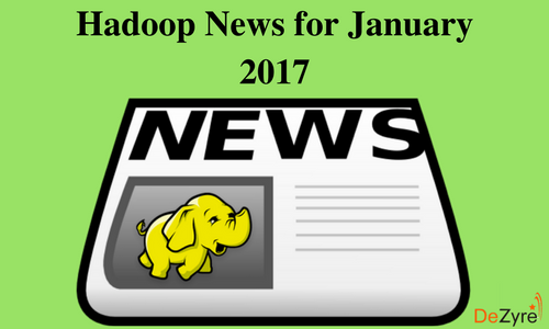 Hadoop News for January 2017