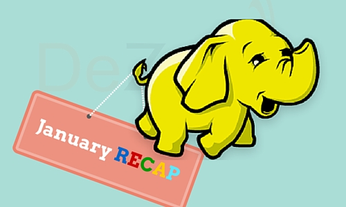 Recap of Hadoop News for January