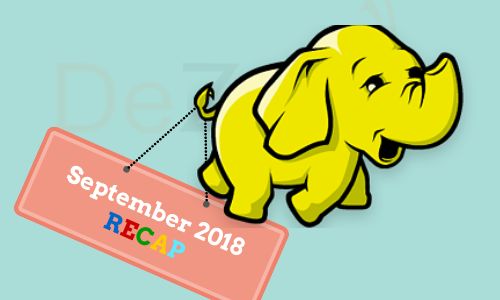 Big Data Hadoop News for September 2018
