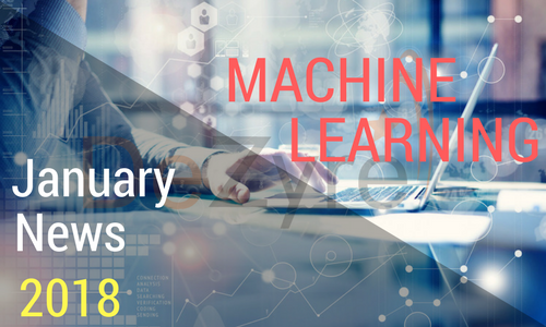 Machine Learning News January 2018