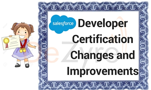 Salesforce Certification Changes
