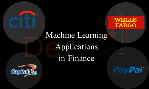 Applications of Machine Learning in Banking and Finance