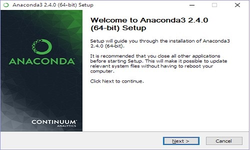 Anaconda Setup