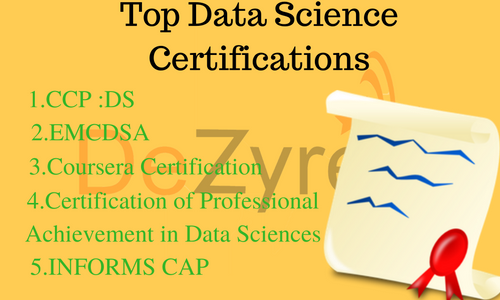Best Data Science Certifications