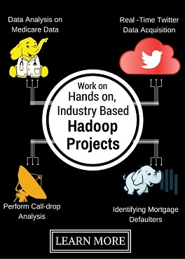 Work on Industry Based Hadoop Projects with Mentors!