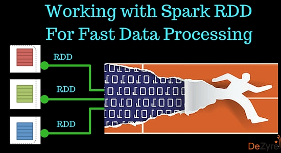 Spark RDD for Fast Data Processing