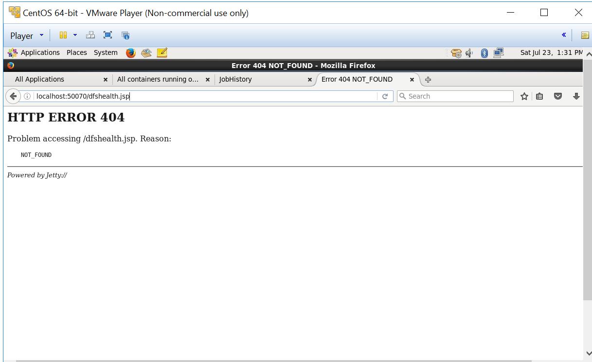 Hadoop 2 0, Name Node GUI is not working | DeZyre