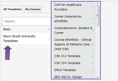 Digication EPortfolio EPortfolio Knowledge Base Create An - E portfolio templates