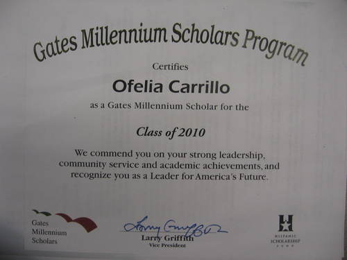 Gates millennium scholarship essays