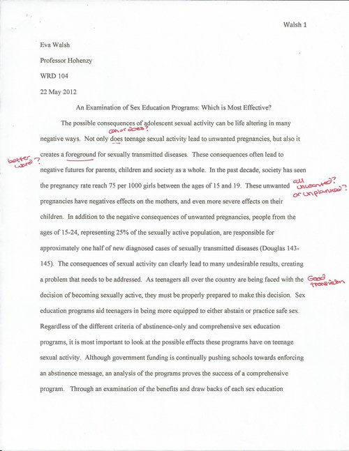 how to write a formal research paper
