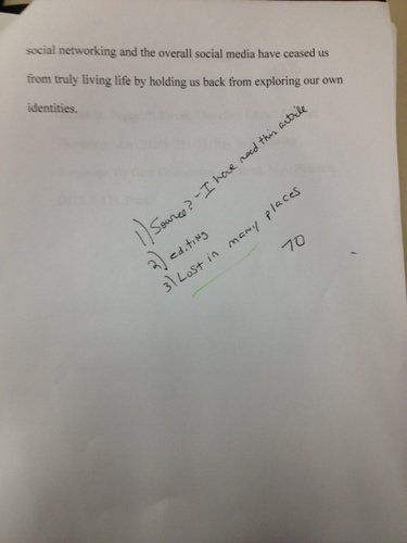 Will you reword what my professor is saying?