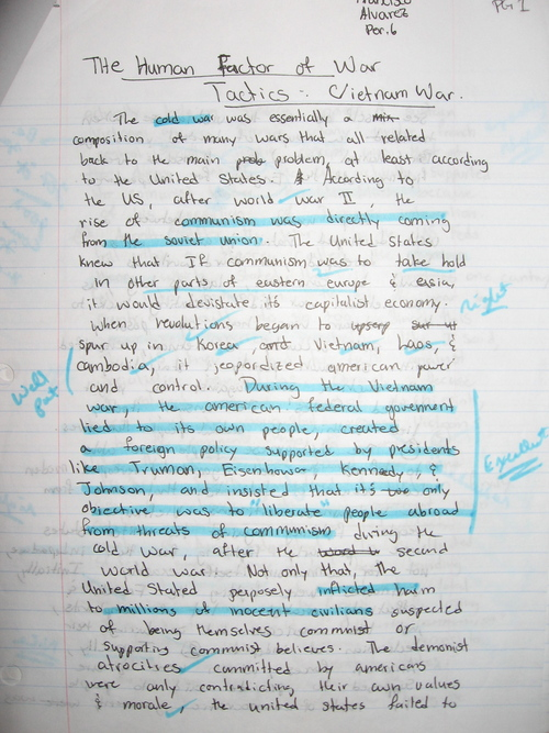 please view an example of a student essay draft below students then incorporate teacher comments into a typed final draft - Essay Draft Example