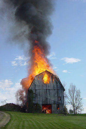 Digication e-Portfolio :: Stacy Finocchio :: Barn Burning