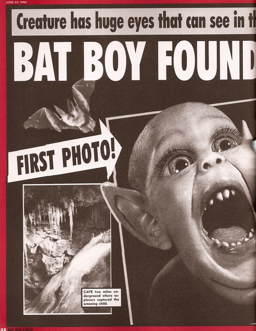 Bat Boy Found In West Virginia Cave