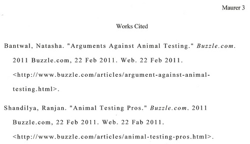 argument articles on animal testing