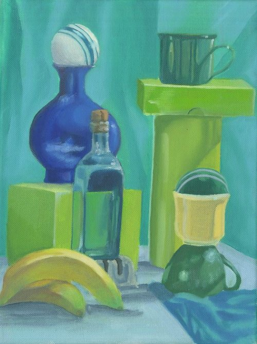 User Uploaded Content Oil Painting 2 Analogous Colors