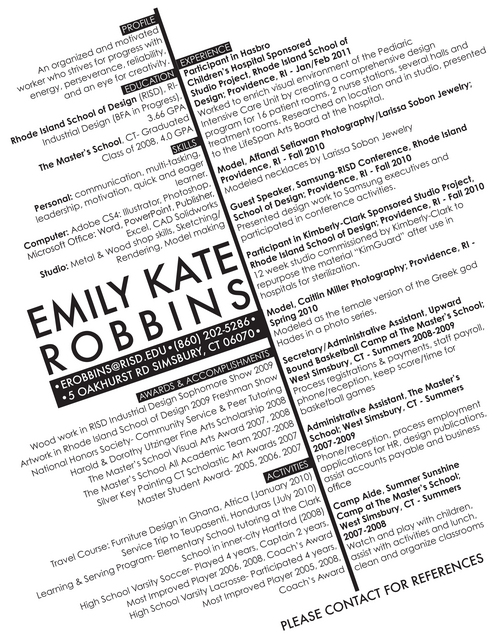 digication e portfolio emily robbins industrial design resume