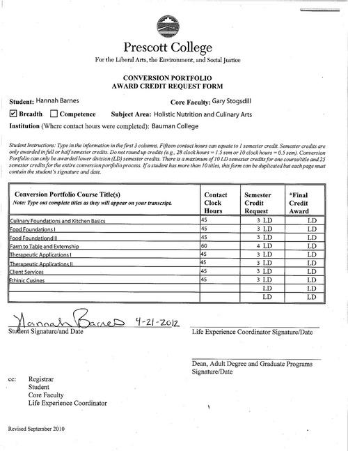 digication eportfolio hannah barnes conversion portfolio