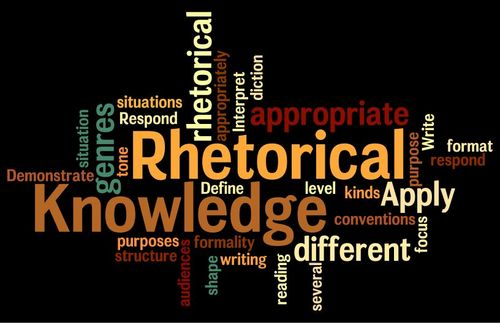 Image result for rhetorical knowledge