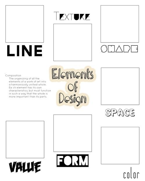 Digication E Portfolio Fairfield Art Elements And Principles