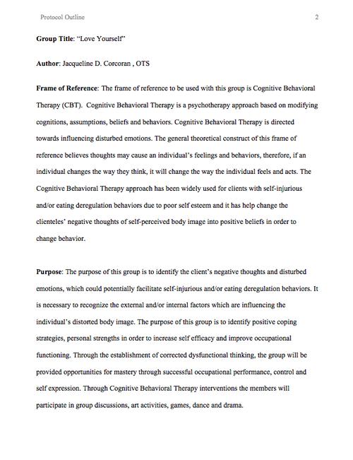 Digication e-Portfolio :: Jacqueline D. Corcoran :: Samples of ...