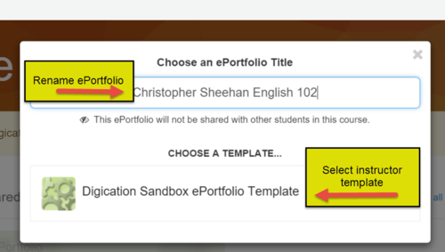 Digication e-Portfolio :: Get Help- ASU Digital Portfolio Resources ...