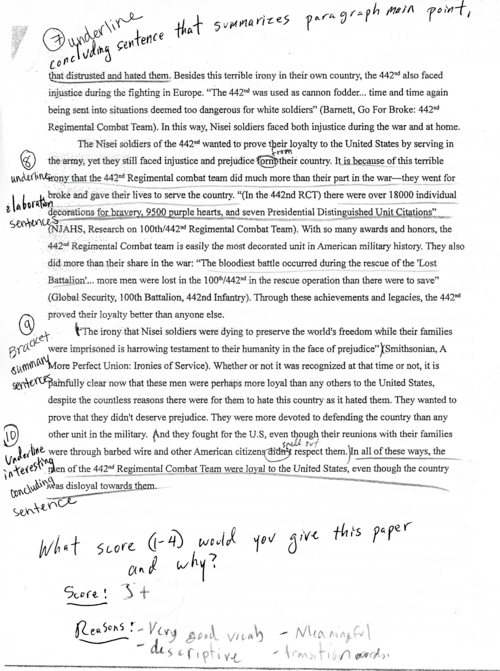 Your Turn 1 : Edit an essay