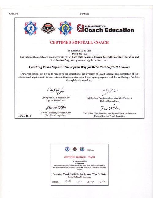 Coaching Certificate Program - Best Design Sertificate 2018